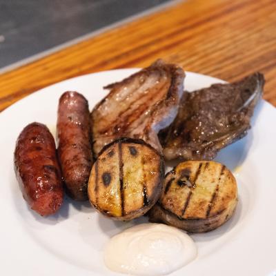 Barbacued meats